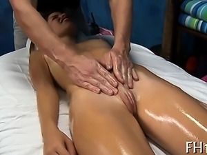 Gorgeous fucked hard by her massage therapist