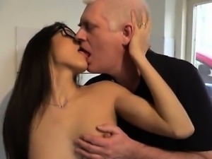 Model blowjob first time But she wants a hard man rod and sh