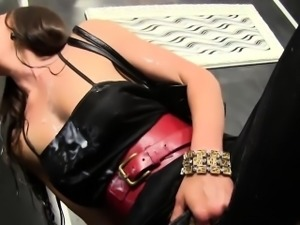 Clothed ho cum covered
