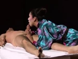Hot Asian Hardcore Massage Sex And BJ