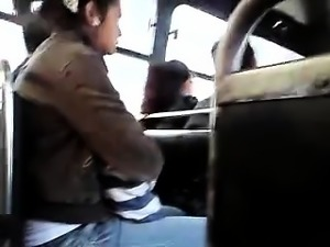 FLASHING TIMID GIRL VIEWING MY PENIS HEAD ON THE BUS