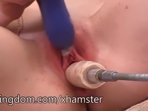 Shyla Ryder fucked by the fuck machine