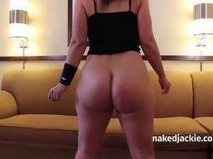 Jackie Stevens in Dancer Size - giant ass booty butt