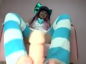 AsianSexPorno com - Japanese lesbian cosplay