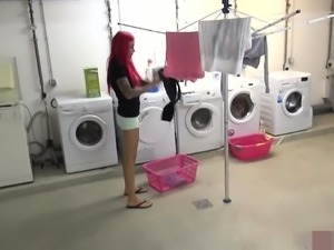 naughty-hotties.net - Redhaired chick blackmailed quickie -