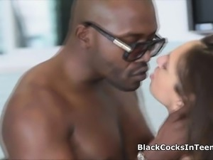 Big black cock in next door Latina coed