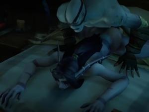 Warcraft Night Elf x Undead