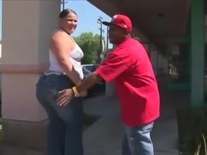 BBW Sucking On A Fat Black Dick