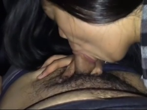 filipina bj in car 2