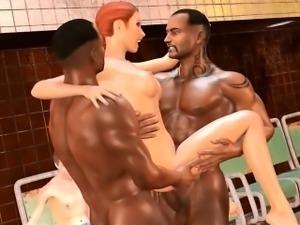 Subway Showdown - Fabulous 3D hentai porn videos