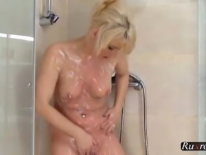 Shower fun with a horny girl HD