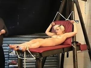Kinky blondes foot fetish