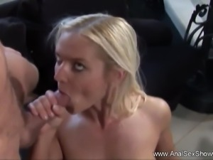 Blonde Beauty Anal Sex Extreme