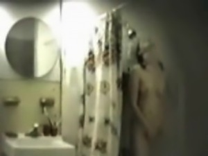More Hidden Cam Shower Fun