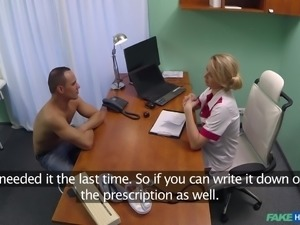 Female doctor tries to induce a new addiction in her patients, addiction of...
