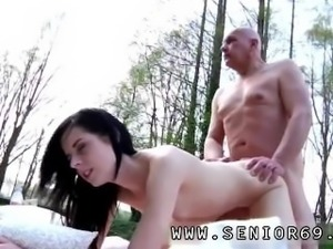 Big tits hot babe brunette and mature on young black cock first time