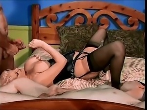 masked bisexual and big tit mmf