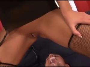 Big creampie for cuck