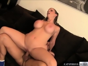 Big booty milf Sara Jay enjoys an explosion of wild sex with Christian