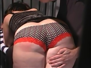 Wife spanked in jail
