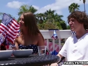 4th of July family fucking
