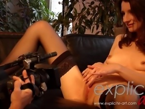 Anal webcam show with Pauline Cooper Anal-pov, Casting-anal, French-anal,...