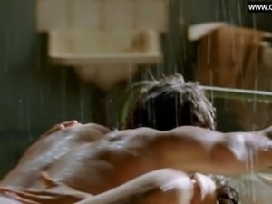 Kim van Kooten - Dutch celebrity Explicit Sex Scene in the rain - Phileine
