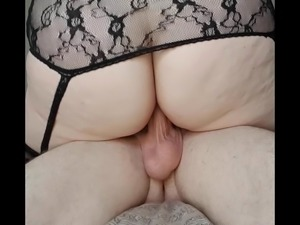 Wife and husband Afternoon sex with creampie