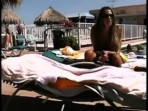 Intercourse membership vacation intercourse by the pool