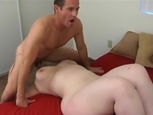 Nothing like sticking your cock into a fat woman's pussy