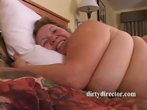 BBW Granny Goes Butt Fucking Wild