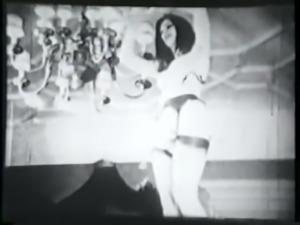 threesome party including striptease - circa 60s