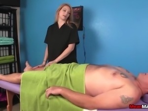 Tag-team domination massage