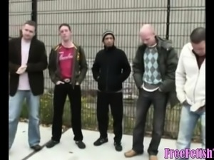 Dutch Gangbang and Bukkake - FreeFetishTVcom