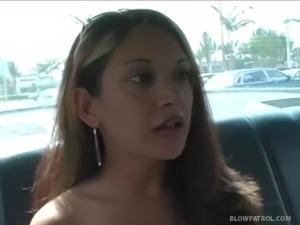 Blowjob In Cop Car