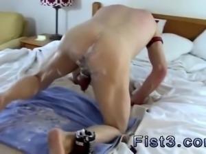 Hot boy ass butt gay Fist n Fuck Fest for Three Pigs