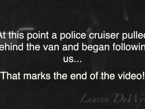 Lauren DeWynter - Gangbanged in a van