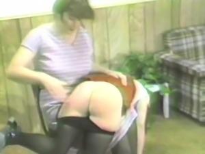 Women Spanking Women