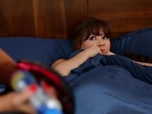 Alison Rey tries to trick her not stepmom Elexis Monroe