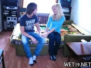 Agreeable cutie receives orgasmic pounding from the back
