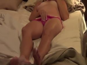 Panties on Masturbation orgasm