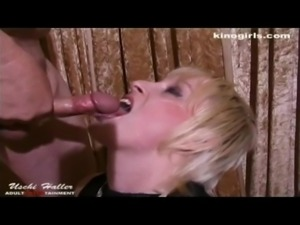 Dany plays with a dildo and suck some dicks