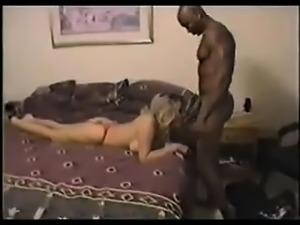 Attractive American lady makes intercourse having a black m