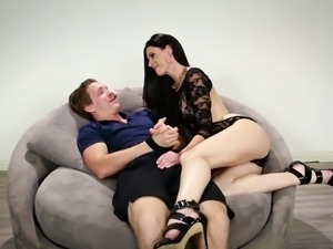 Russian man trapped in a crazy MILF's house