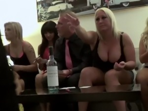 Hotel room party with pornstar sluts and their men