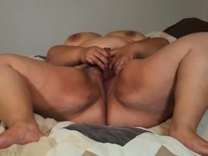 Redone bbw in bed Tasha from 1fuckdatecom