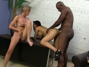 Sheila Marie and another bitch wanna some bbc in their holes