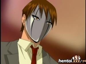 Hentai.xxx - Busty MILF S First Threesome