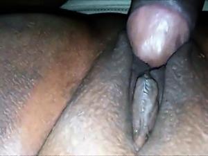 Ebony BBW has her pussy fucked by a BBC
