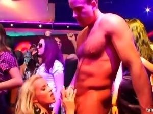 Mesmerizing ladies having their pussies stuffed in the secret club